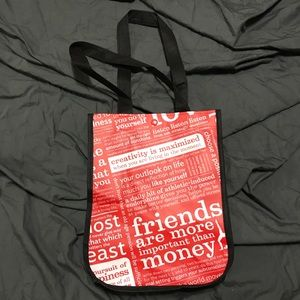 NEW! LULULEMON Athletica Small shopping Tote Bag